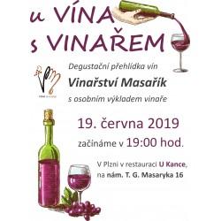 U vína s vinařem 19. 6. 2019