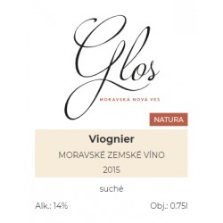 Viognier 2015 Vinařství Glos